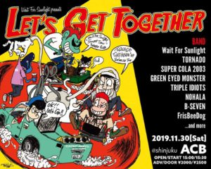 Green Eyed Monster Tour 2019 @ Shinjuku ACB | Shinjuku City | Tōkyō-to | Japan