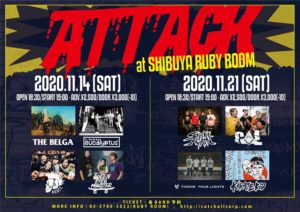 『ATTACK』 @ 渋谷RUBY ROOM | Shibuya City | Tōkyō-to | Japan